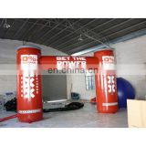 inflatable can shap arch door for event with full digital printing artwork