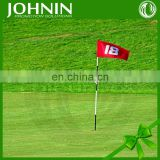 Sport using plastic flagpole high quality cheap durable golf flag