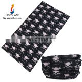 LINGSHANG multifuncion headwear bandana magic headband custom headwear
