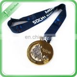 Metal Medals Ribbons For Awards Fighting Sport Medals For International
