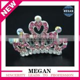 Girl jewelry rhinestone princess ballet crown tiaras comb