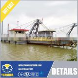 "12"" 150m3/h mechanical cutter head suction dredger for sand dredging"