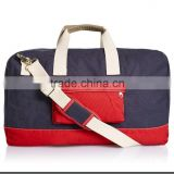 wholesale cheap canvas travel shoulder duffle bags with custom logo