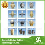 Copper Layflat hose fitting and pipe fitting assembly