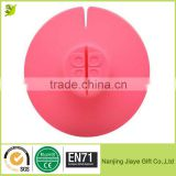 Eco-friendly Silicone Cup Cover Lid Tea Bag Buddy