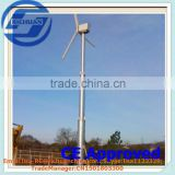 2015 Richuan Unique technical support for Horizontal Wind Turbine and solar panel hybrid system 60kw Variable Pitch Technology