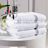 Wholesale hotel supplies satin 100% cotton hotel towel                                                                         Quality Choice