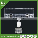 Adjustable POP Clip Plastic Shelf Price Strip