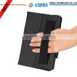 For Kindle Fire HDX (2013 Release) 7 inch Tablet Leather Case Cover with Elastic Hand Strap