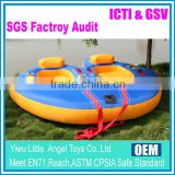 2015 Hot selling inflatable towable tube for water sports