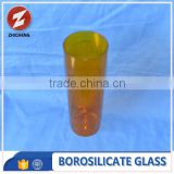 custom size colored pyrex glass tube
