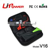 Emergency battery charger power bank car jump starter auto start with zipper carring case