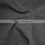 Weft Stripe Dobby Melange Yarn Dyed knit fabric