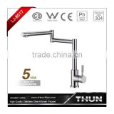 Modern style brushed plated luxury water tap