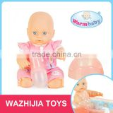 New item mini reborn soft silicone baby dolls with two clothes
