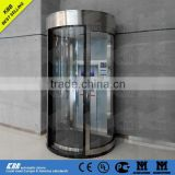 Bank ATM security booth, security glass, lock, CE certificate