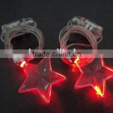 Star LED Necklace Flashing With Custom Logo For Christmas Decorations