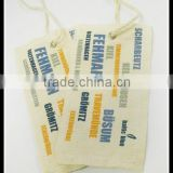 Special design custom Canvas Fabric label tags for jeans/garment                                                                         Quality Choice