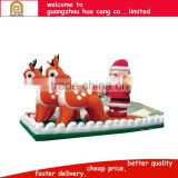 Merry Christmas Inflatable decoration,outdoor christmas display, inflatable yard decorations christmas items