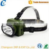 Hot Sale 2 LED Light Bulb Flashlight Rechargeable Battery Torch