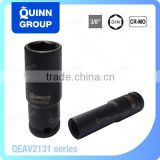 "Quinnco 3/8"" Drive Impact Deep Sockets Automotive Tool, Automotive Tools With Names"
