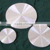 Purity 99.9%-99.999% smoothing surface sputtering aluminium targets