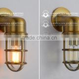Anituqe bronze bulkhead wall light lamp lights fixture outdoor wall light waterproof