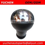 YUCHEN Car Shift Gear Knob Silver/ Black Caps Gear Knob For Peugeot 106 205 206 306 406 207 307 407