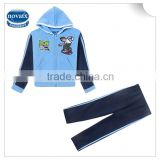 (car-1228) 2-12Y nova new arrive baby clothes sets winter hoodies child suits wholesale cheaper kids sets for children