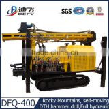 Air compressor for drilling rig DFQ-400 used borehole drilling machine for sale