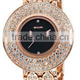 weiqin w4243 bling bling face western quartz crystal watches