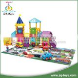 Intelligence educational car parking game educational toys interesting amusement park with carpet