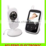 "with Infrared Night Vision 2.4"" Portable Wireless 2.4 GHz Video Wireless Baby Monitor"