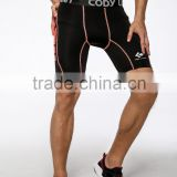 Guangzhou Wholesale or custom men spandex black white compression Wolf Boxer Shorts running shorts