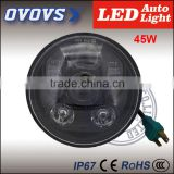 OVOVS 45w 5.75inch renault fluence 12v/24v motorcycle led lighting lamp for h-arley davidson accessories
