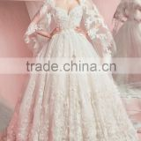 (MY0930) MARRY YOU China Factory Custom Made Sweetheart Lace Flower Puffy Princess Ball Gown Wedding Dresses Patterns                                                                         Quality Choice