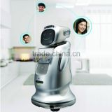 mobile app cotrol and voice controlled automatic robot for intelligent service