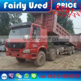 High guality Howo Dump box low price Howo truck in dump box in Shanghai , Howo dump box