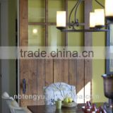 Steel barn door hardware/sliding wood door