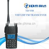 TD-V80 dual band cheap fm ham radio transceiver from china