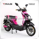 tailg electric scooter with pedals 350w electric moped for adult steel frame pedals moped for sales TDRD32Z