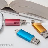 Colorful OTG 8G 16G 32G 64G mobile USB Flash Drive usb Stick Pen drive pendrive smart phone external