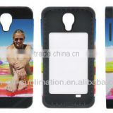 PrintableCase for Samsung S4; 3D Blank Phone Case; Silicone phone case for Samsung S4; Card inserted phone case