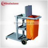 Best Selling Hotel Housekeeping Cleaning Trolley/Maid Cart/Janitorial Equipment