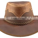 """Sirocco"" - HEAD N HOME HATS - Leather - Western - Copper Women Hats"