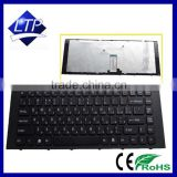 100% brand new Laptop / Notebook Keyboard for Sony VPC-EG EG16EC/B EG16EC EG16EC EG23YC Keyboard RU/US Black