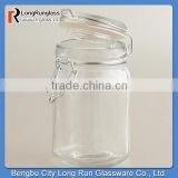 LongRun 8.5oz Special Design Spice Jars with Clamp Lids High Quality Glass Containers Wholesale