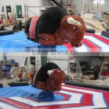 best quality mechanical bull rodeo simulator/inflable mechanical bull