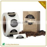 Newest Fashion Accessory Back Neck Labels For Coffee Bags Manufacturer