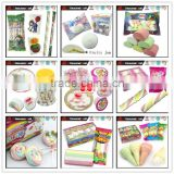 Multicolor Cotton Candy Giant Marshmallow Lollipop, ICE CREAM Marshmallow, Twist Marshmallow Series